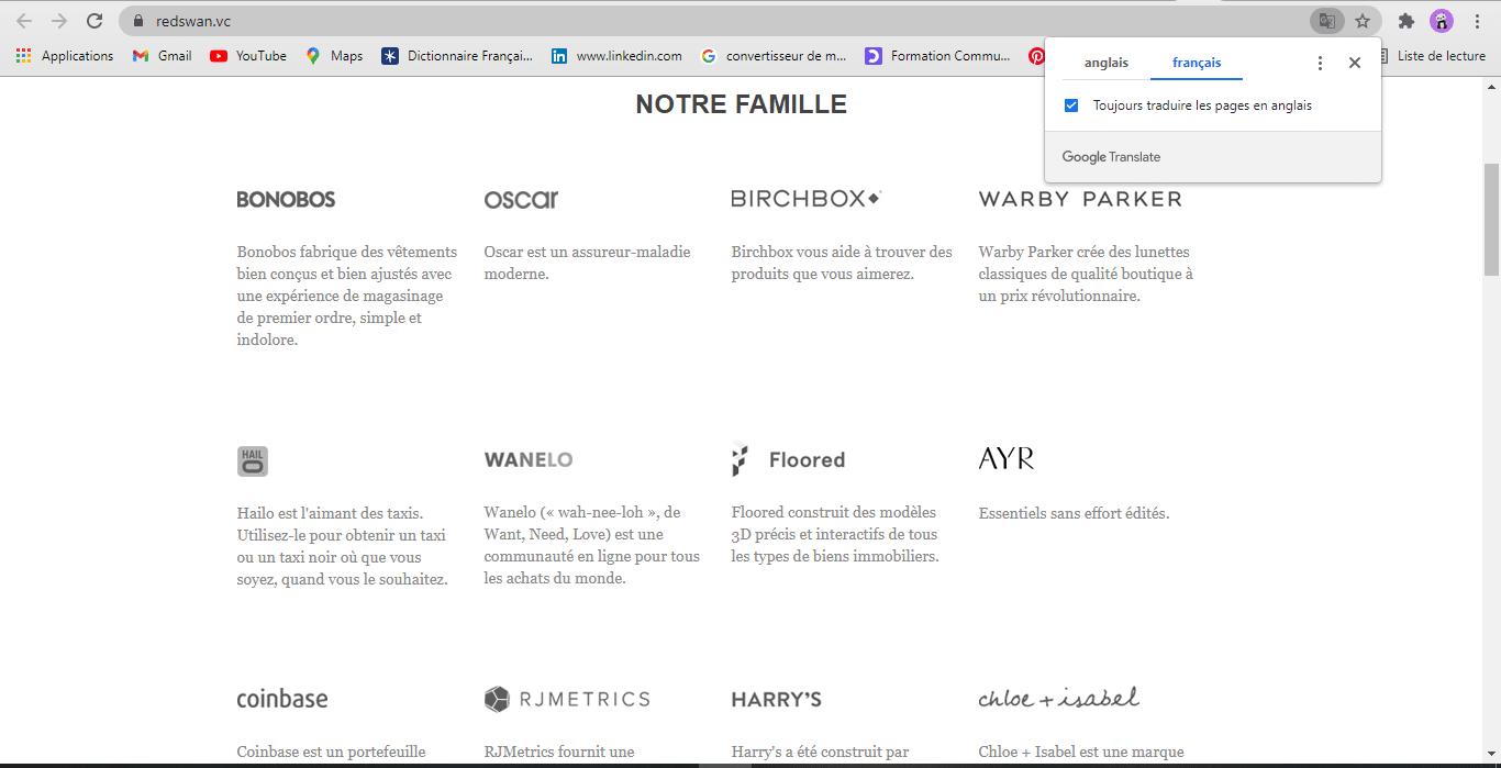Site web portail