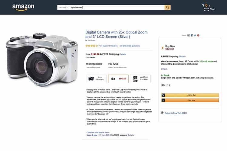 Appareil photo Amazon