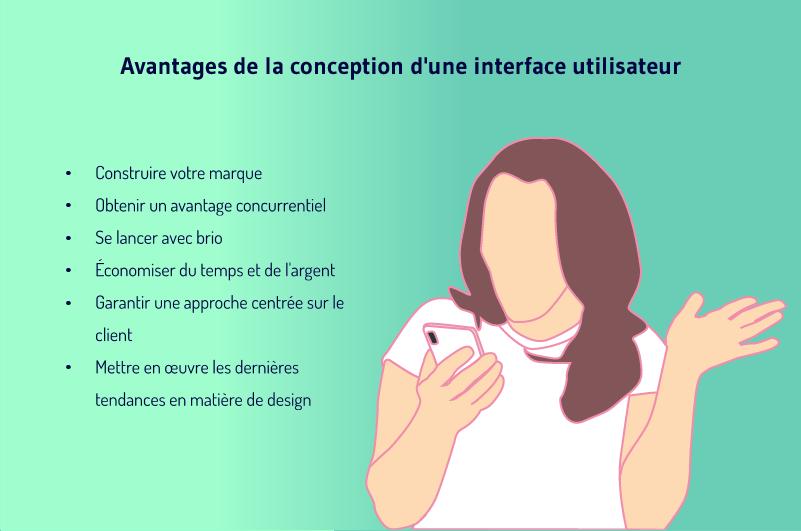 Avantages de la conception de l interface utilisateur
