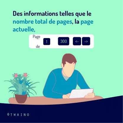 Carrousel - Balise de pagination PART 6-05 Nombre total de pages