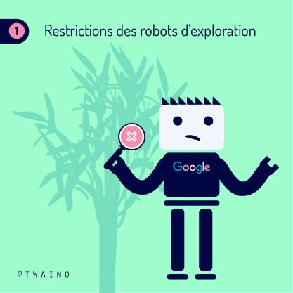 Carrousel - Balise de pagination PART 7-06 Restriction des robots d exploiation