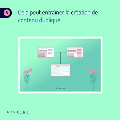 Carrousel - Balise de pagination PART 7-08 Contenu dupliqu