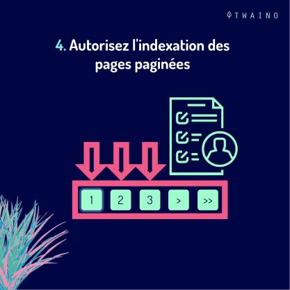 Carrousel - Balise de pagination PART 8-05 Autorisez l indexation
