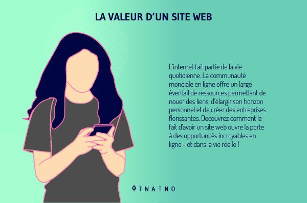 La valeur d un site web 1