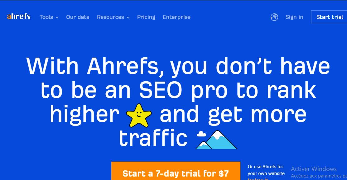 Site Ahrefs