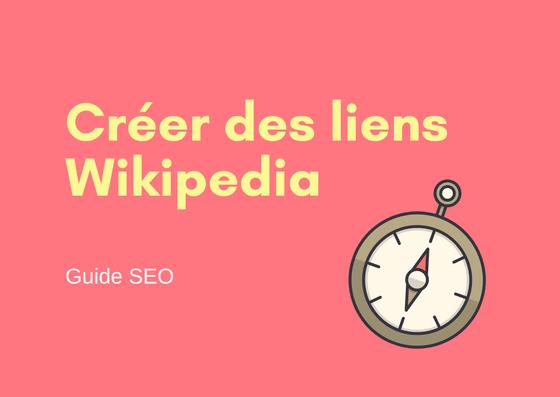Creer des liens wikipedia