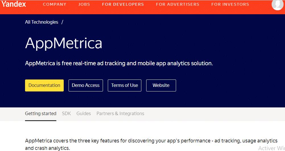 App Metrica