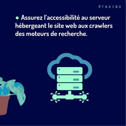 PARTIE 5 Carrousel Crawler ou Robot-09 Accessibilite au serveur