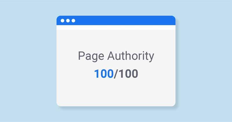 Page autorite 100 sur 100